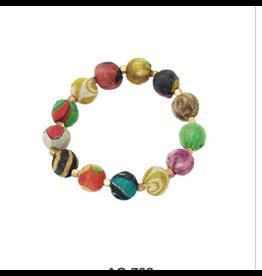Kantha Bauble Bracelet, India