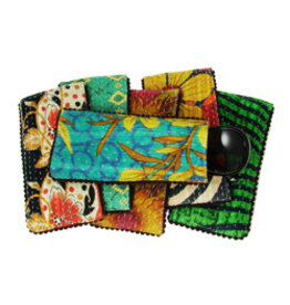 Kantha Eyeglass Case w/ Picot Trim