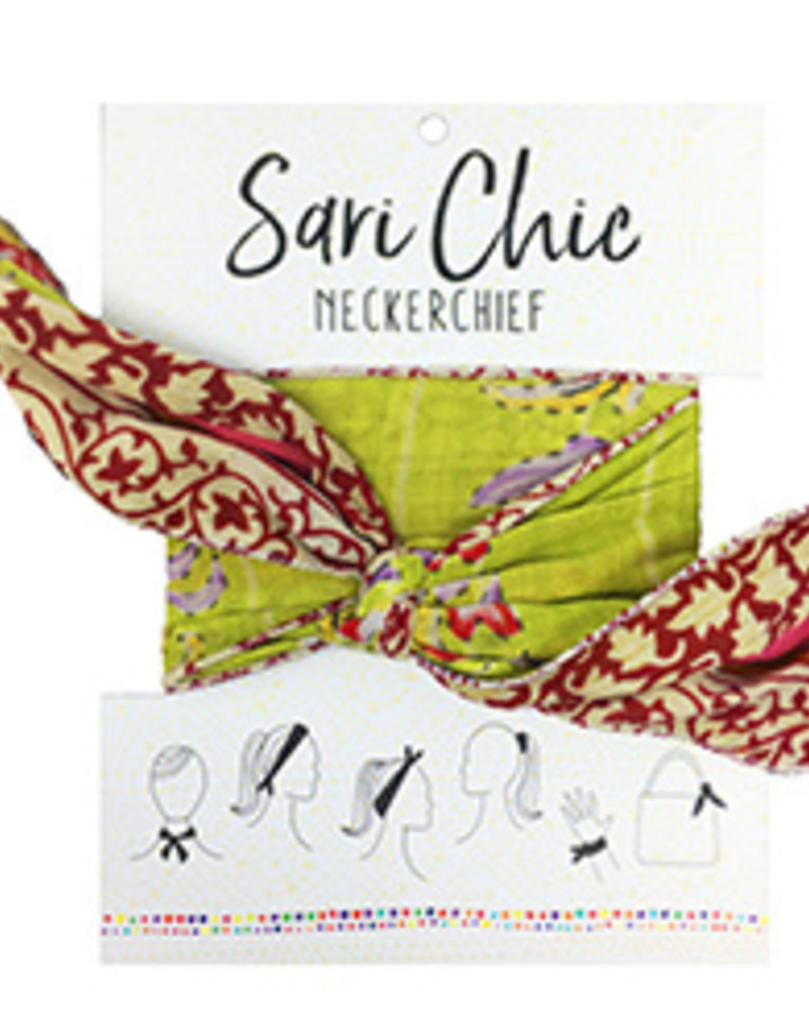 Sari Chic Neckerchief, India