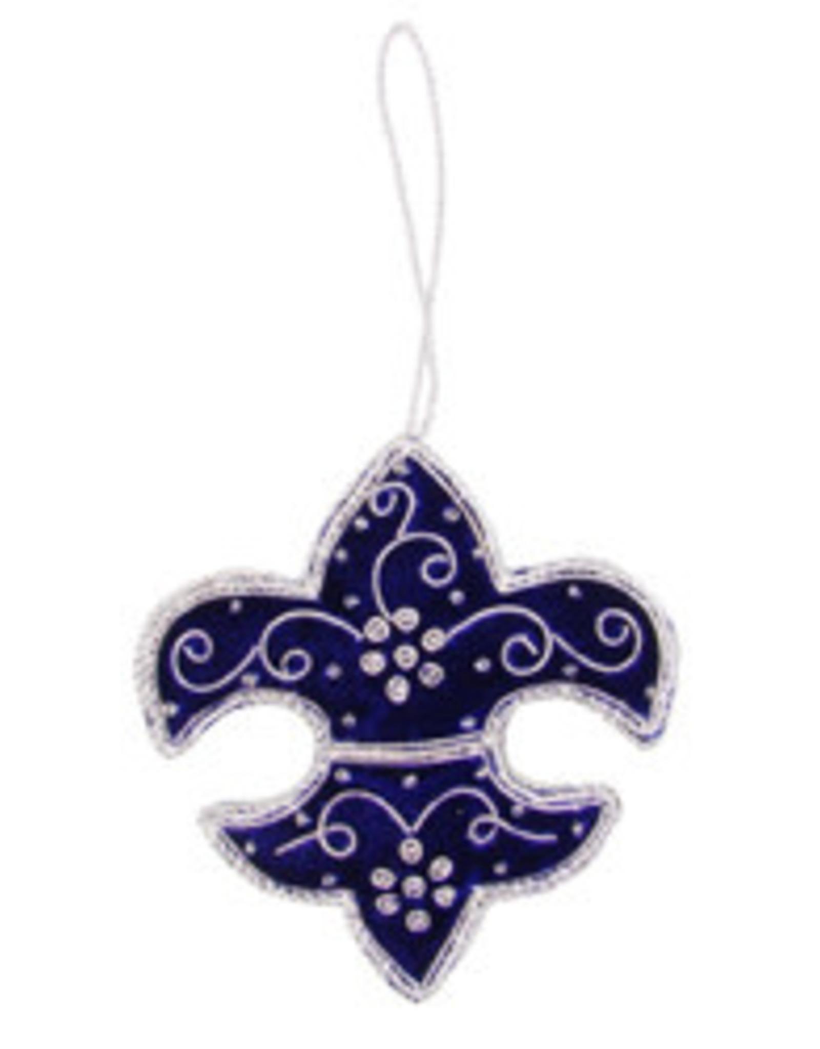 India, Fleur di Lis Ornament