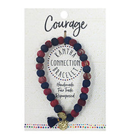 Kantha Connection Bracelet, Courage