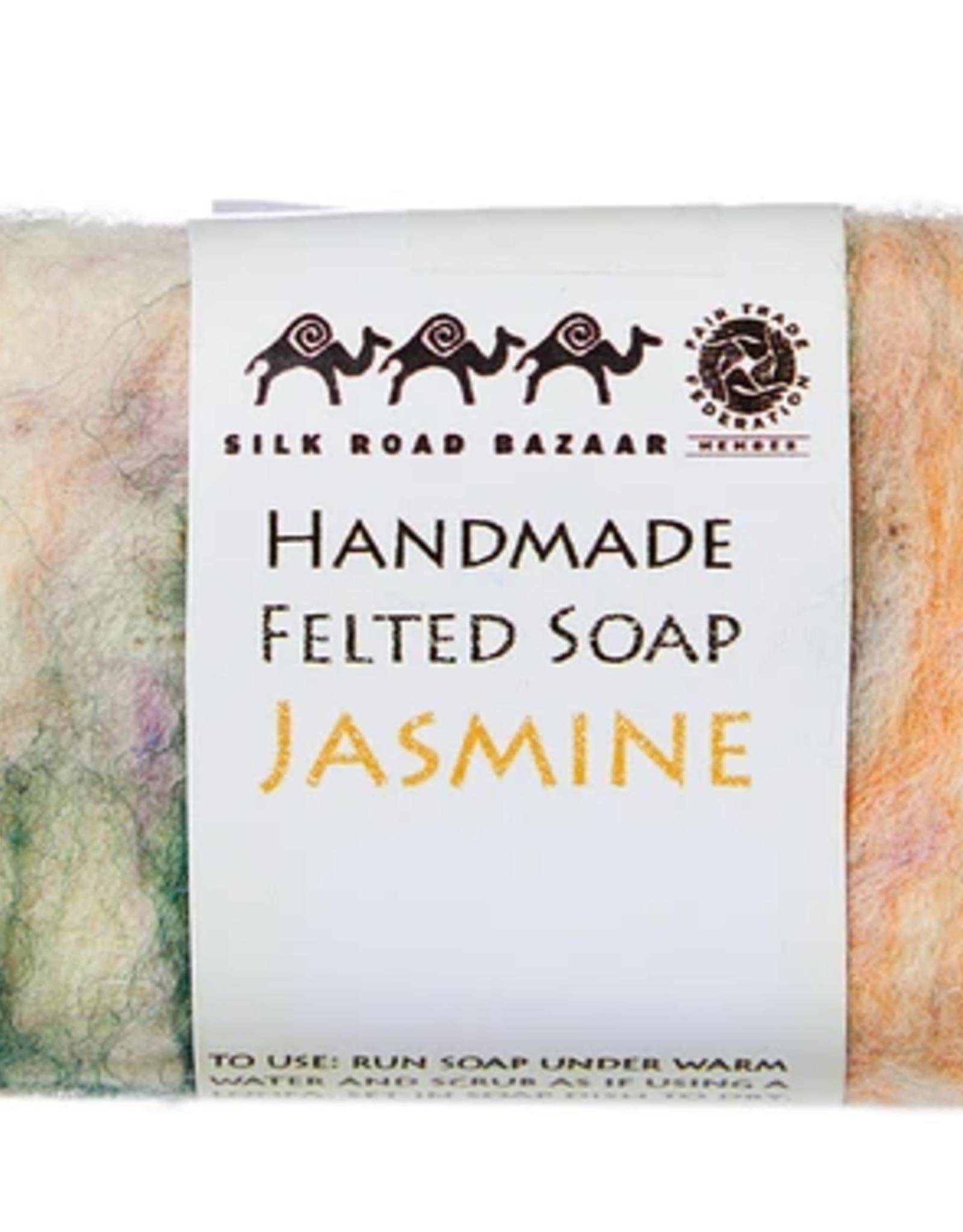 kyrgyzstan, Felted Soap Jasmine