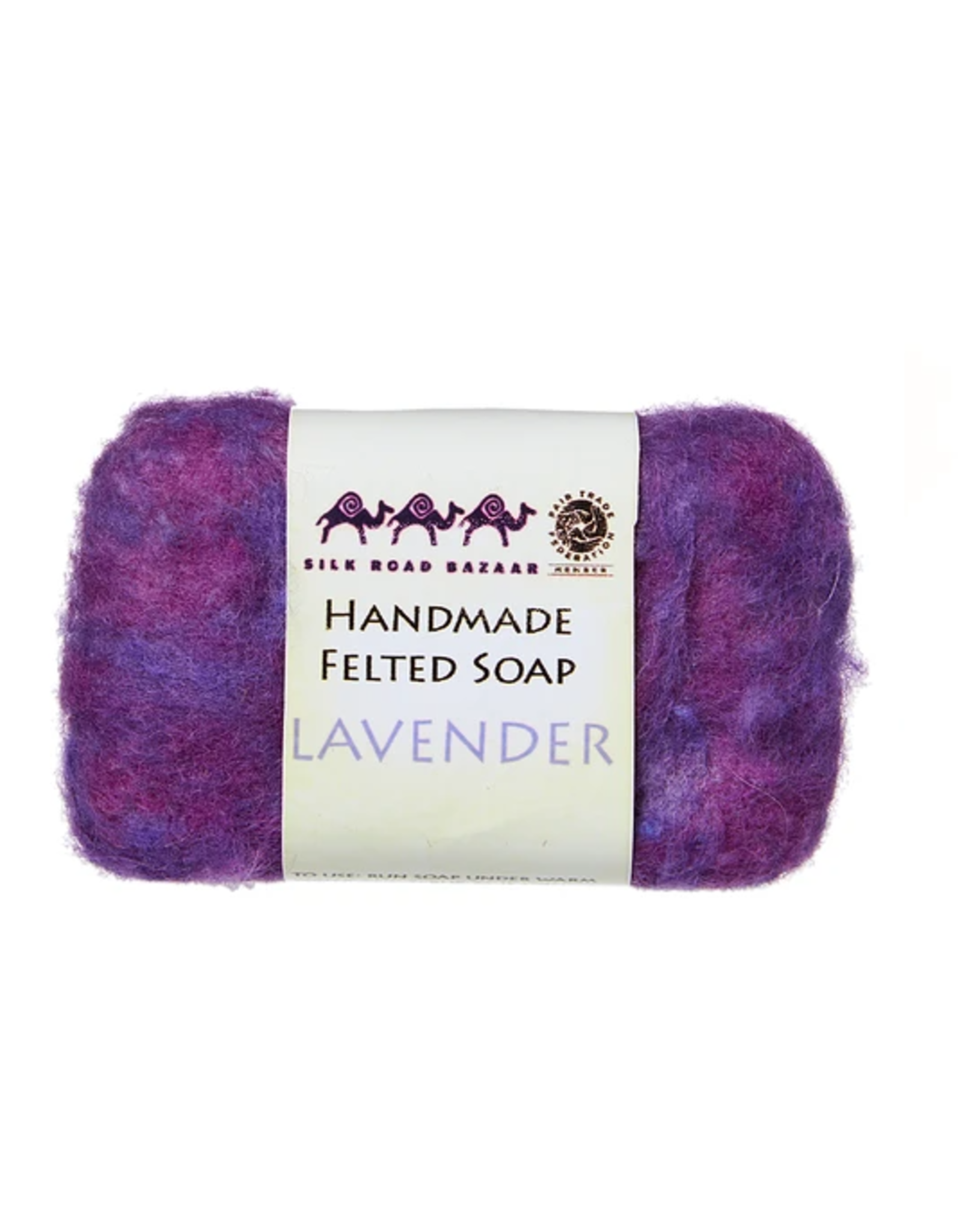 kyrgyzstan, Felted Soap Lavender