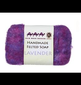 Felted Soap, Lavender, Kyrgyzstan
