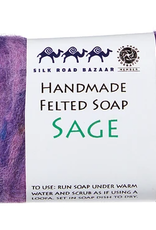 kyrgyzstan, Felted Soap Sage