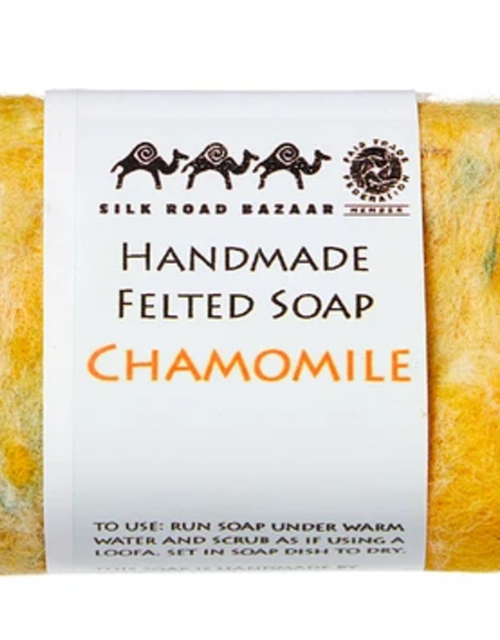 kyrgyzstan, Felted Soap Chamomile