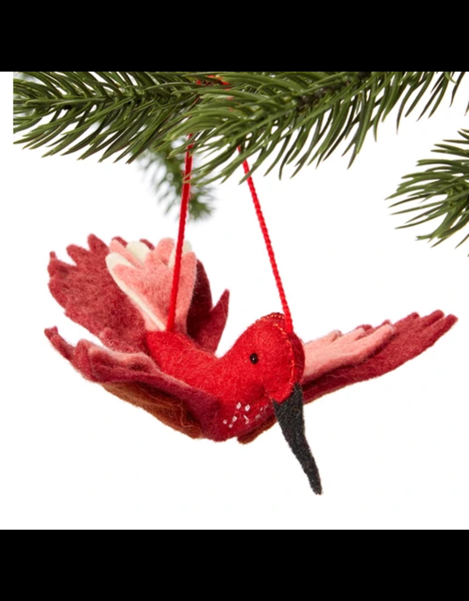 Felted Ornament Hummingbird, Kyrgyzstan