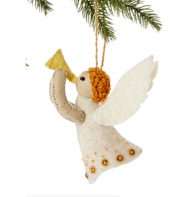 Felted Angel Ornament, Kyrgyzstan