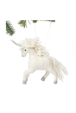 Felted Unicorn Ornament, Kyrgyzstan