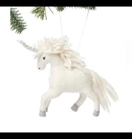 kyrgyzstan, Felted Unicorn