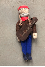 Kyrgyzstan, Historical Felt Dolls Willie Nelson