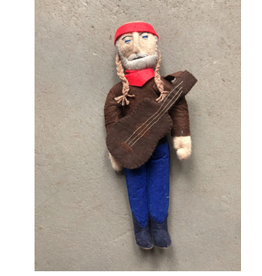 Kyrgyzstan, Historical Felt Dolls Willie Nelson