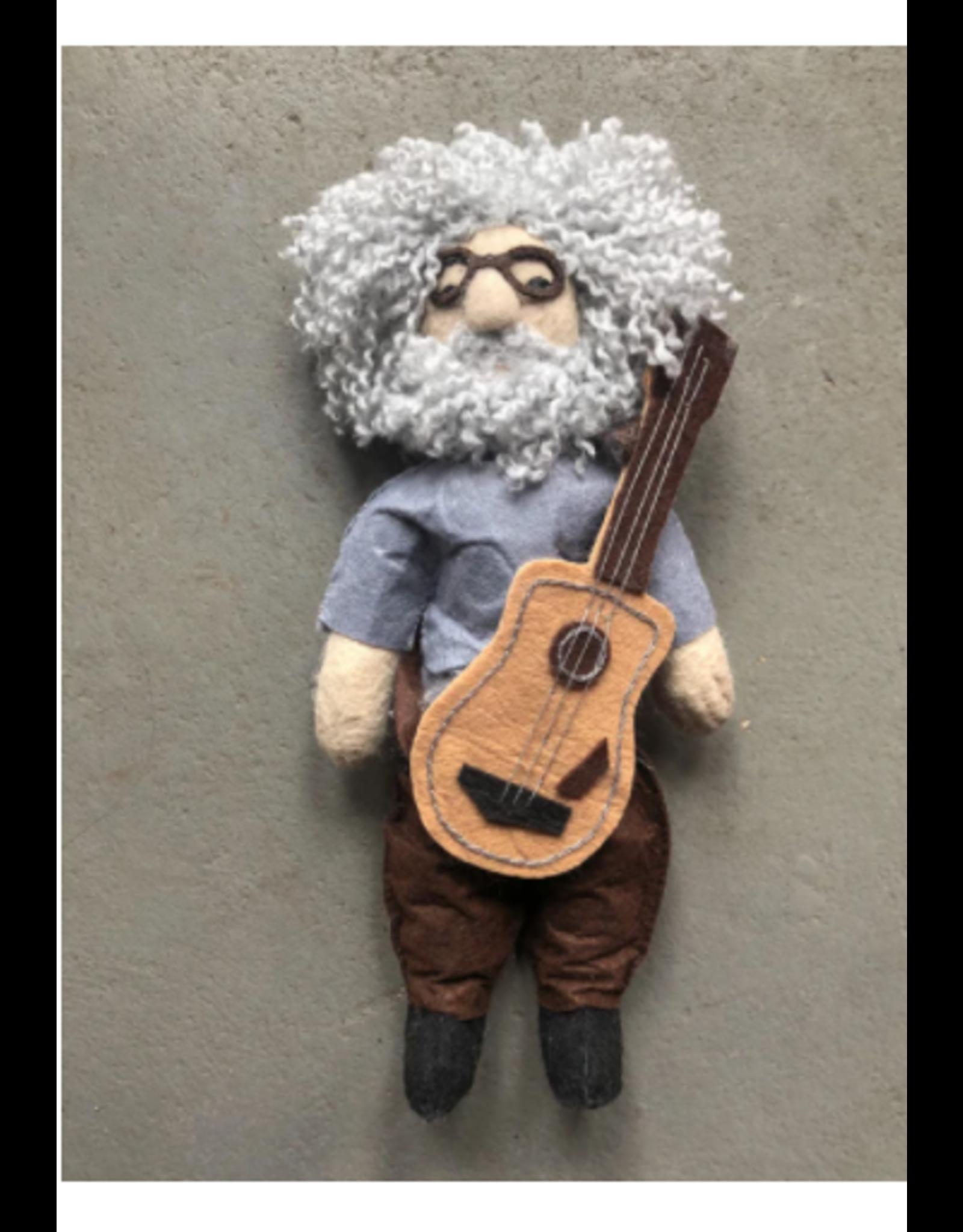 Kyrgyzstan, Historical Felt Dolls Jerry Garcia