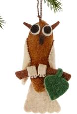 Felt, Owl Ornament