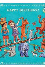 Putumayo Cards Animal Birthday