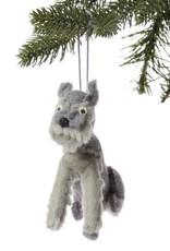 Felt Schnauzer Ornament