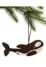 Felt Orca Ornament, Kyrgyzstan