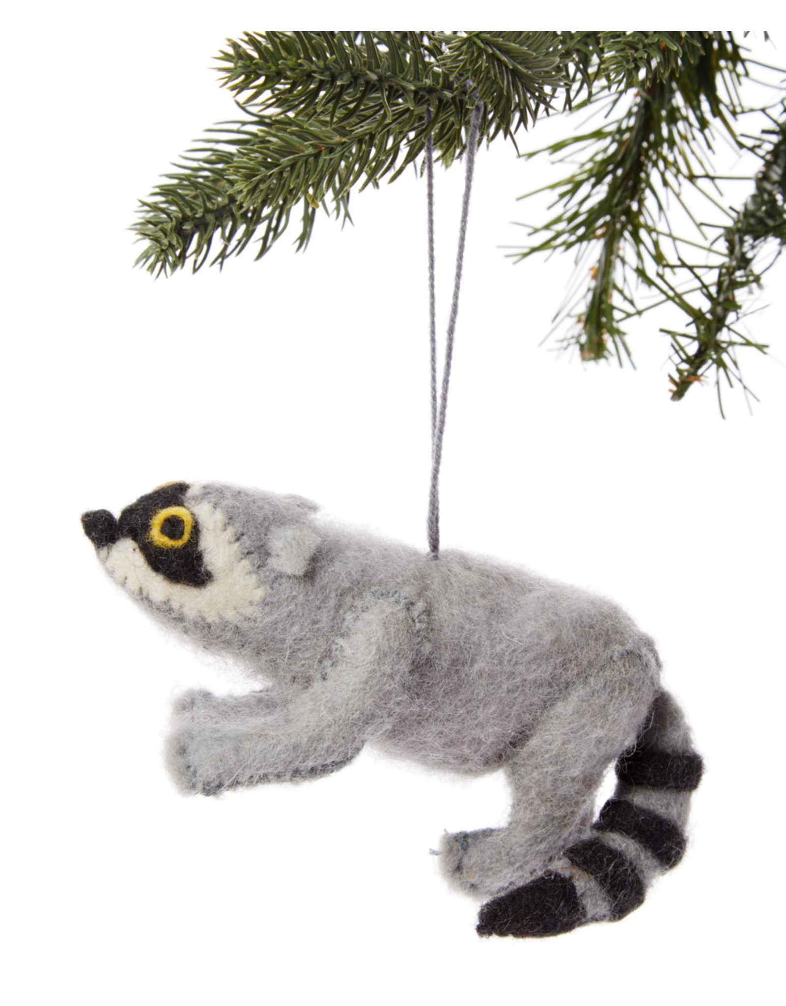 Felt Raccoon Ornament, Kyrgyzstan