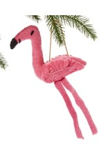 Felt Fickle Flamingo Ornament, Kyrgyzstan