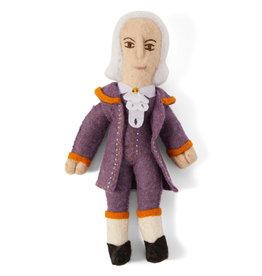 Kyrgyzstan, Historical Felt Dolls Alexander Hamilton