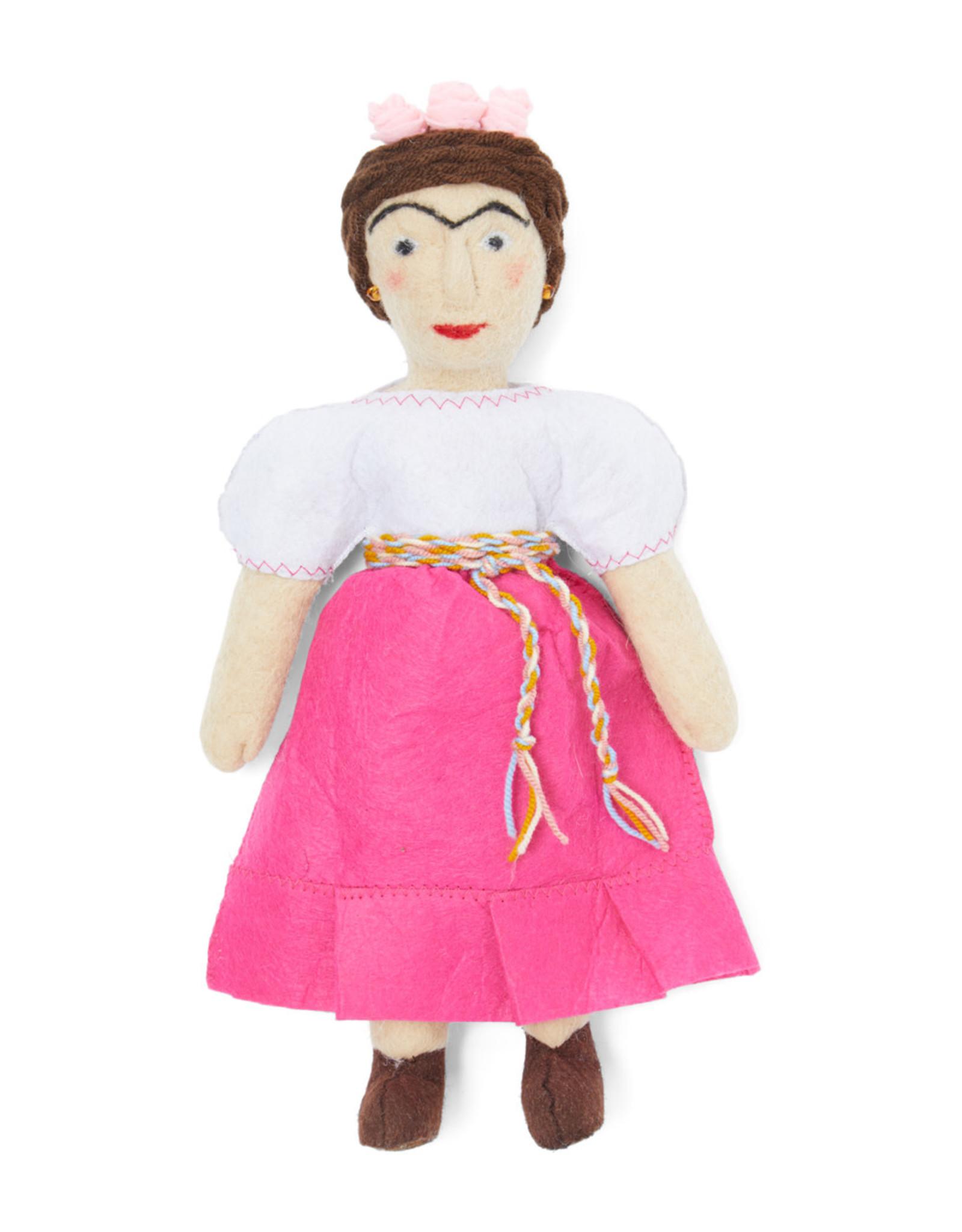 Kyrgyzstan, Historical Felt Dolls Frida Kahlo
