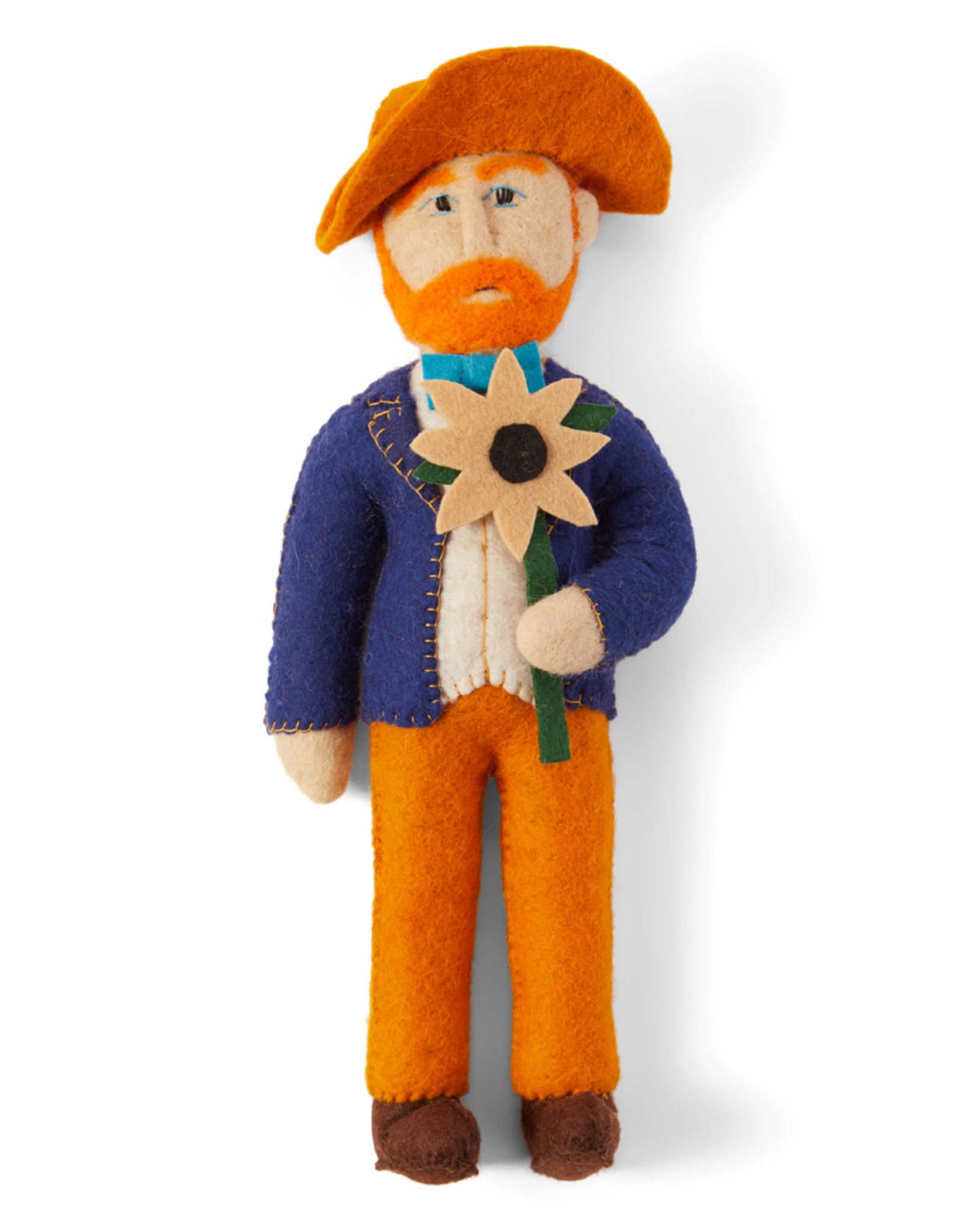 Kyrgyzstan, Historical Felt Dolls Vincent Van Gogh