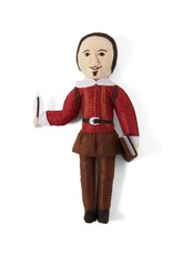 Kyrgyzstan, Historical Felt Dolls William Shakespeare