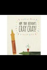 Cray Cray Birthday Greeting Card, Philippines