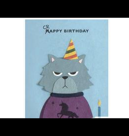 Grumpy Kitty Birthday Greeting Card, Philippines