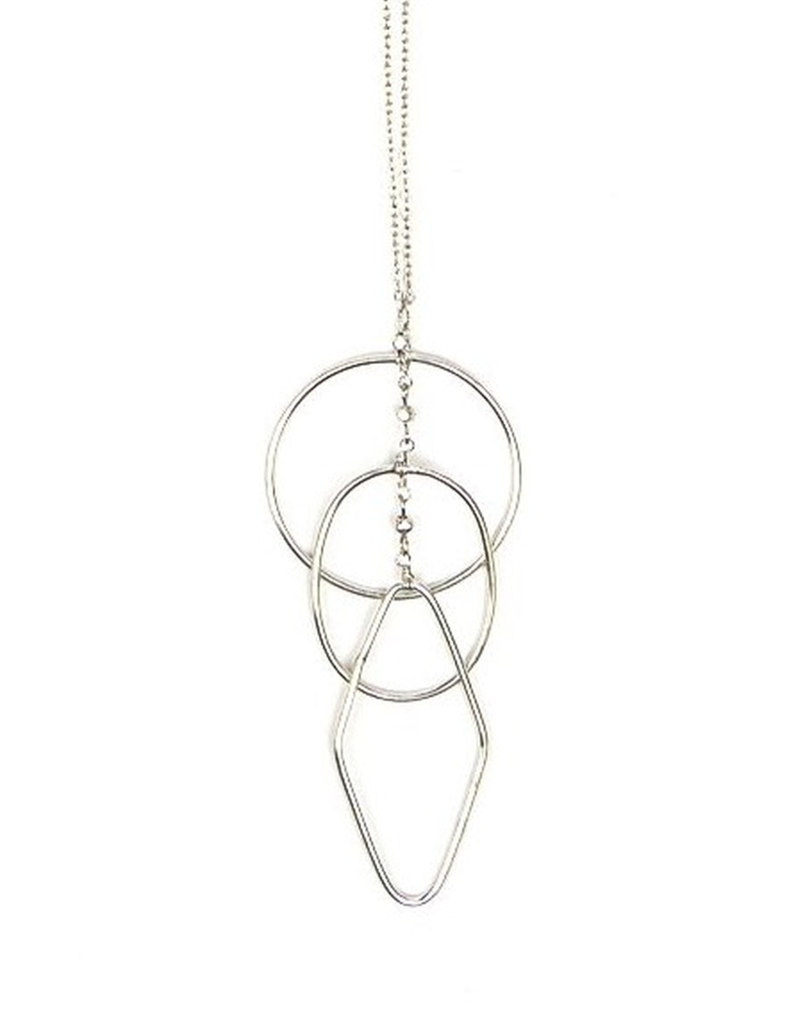 Silver Ripples Necklace