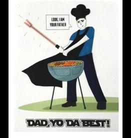 Dad Yo Da Best Card Greeting Card