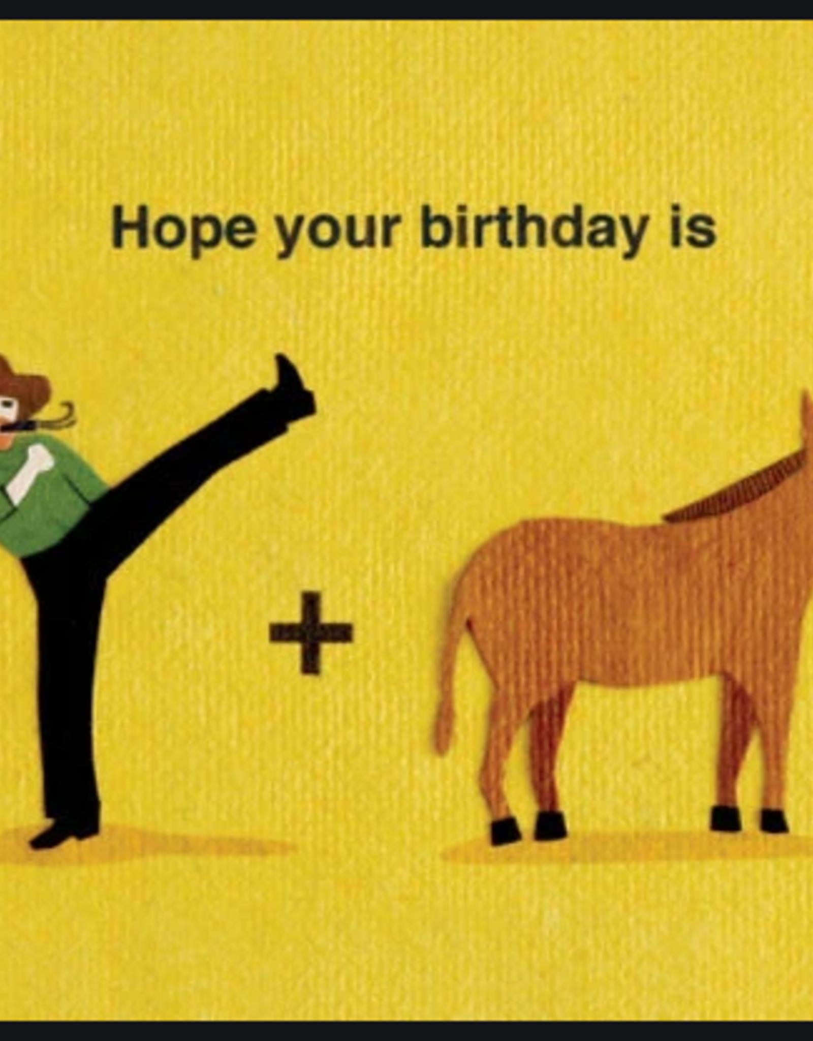 Kick Donkey Birthday