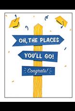 Places You'll Go Graduation Card