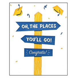 Places You'll Go Greeting Card