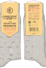 India, Assorted Conscious Socks Breast Cancer S/M