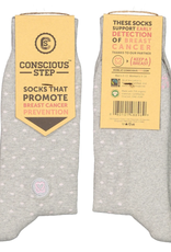 Socks that Promote Breast Cancer Prevention S/M