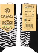 India,  Conscious Socks Zebra S/M