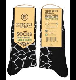 Socks that Protect Giraffes S/M