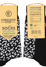 Socks that Protect Cheetahs S/M