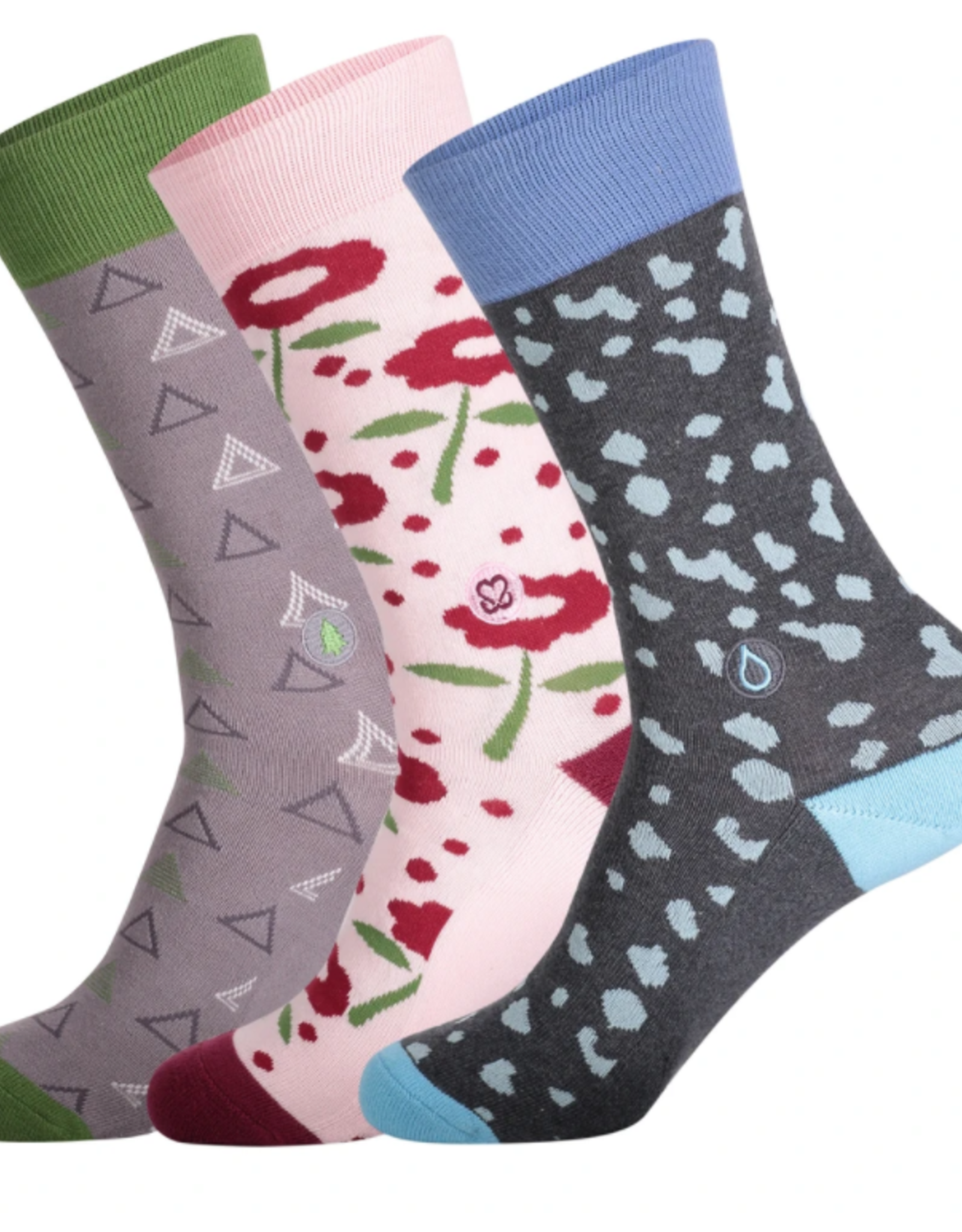 India, Conscious Socks Box Set  Socks that Fight for Her Small