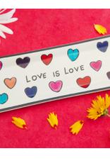 Kenya, Love is Love Rectangle Tray Soapstone