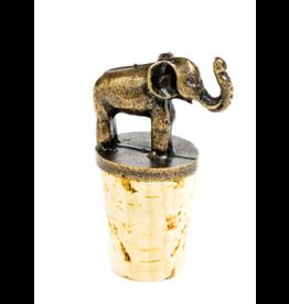 Bottle Stopper Elephant