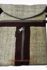 2 Zip T Passport Bag, Nepal