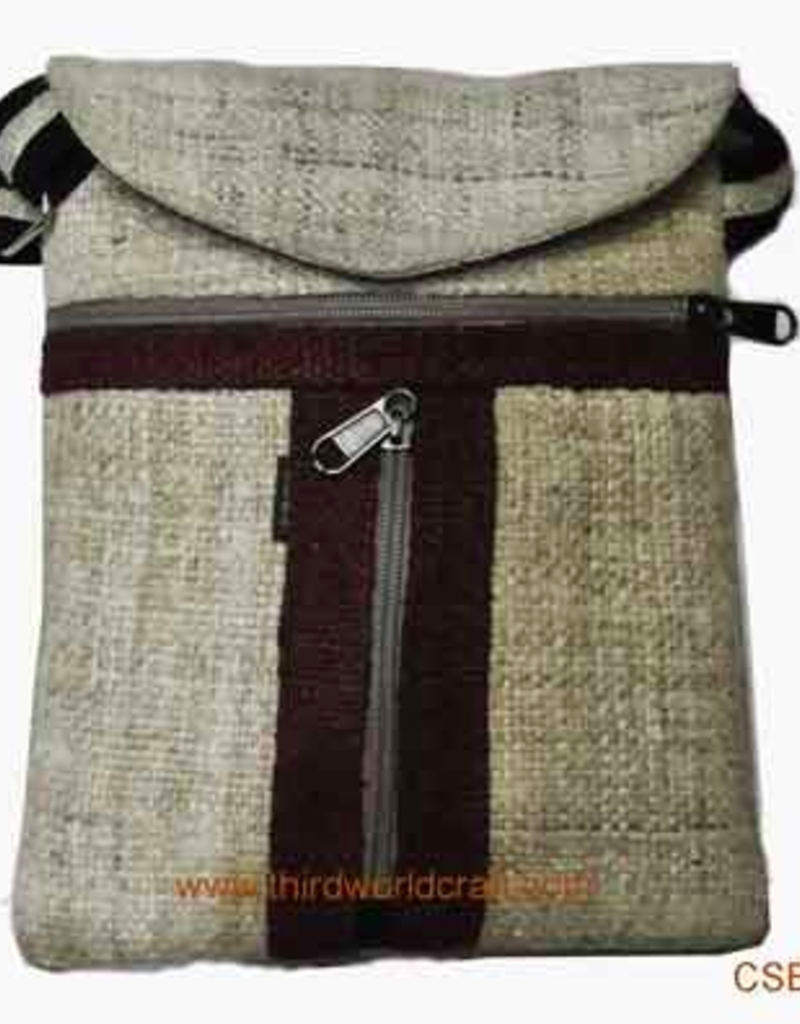 Nepal, 2 Zip T Passport Bag