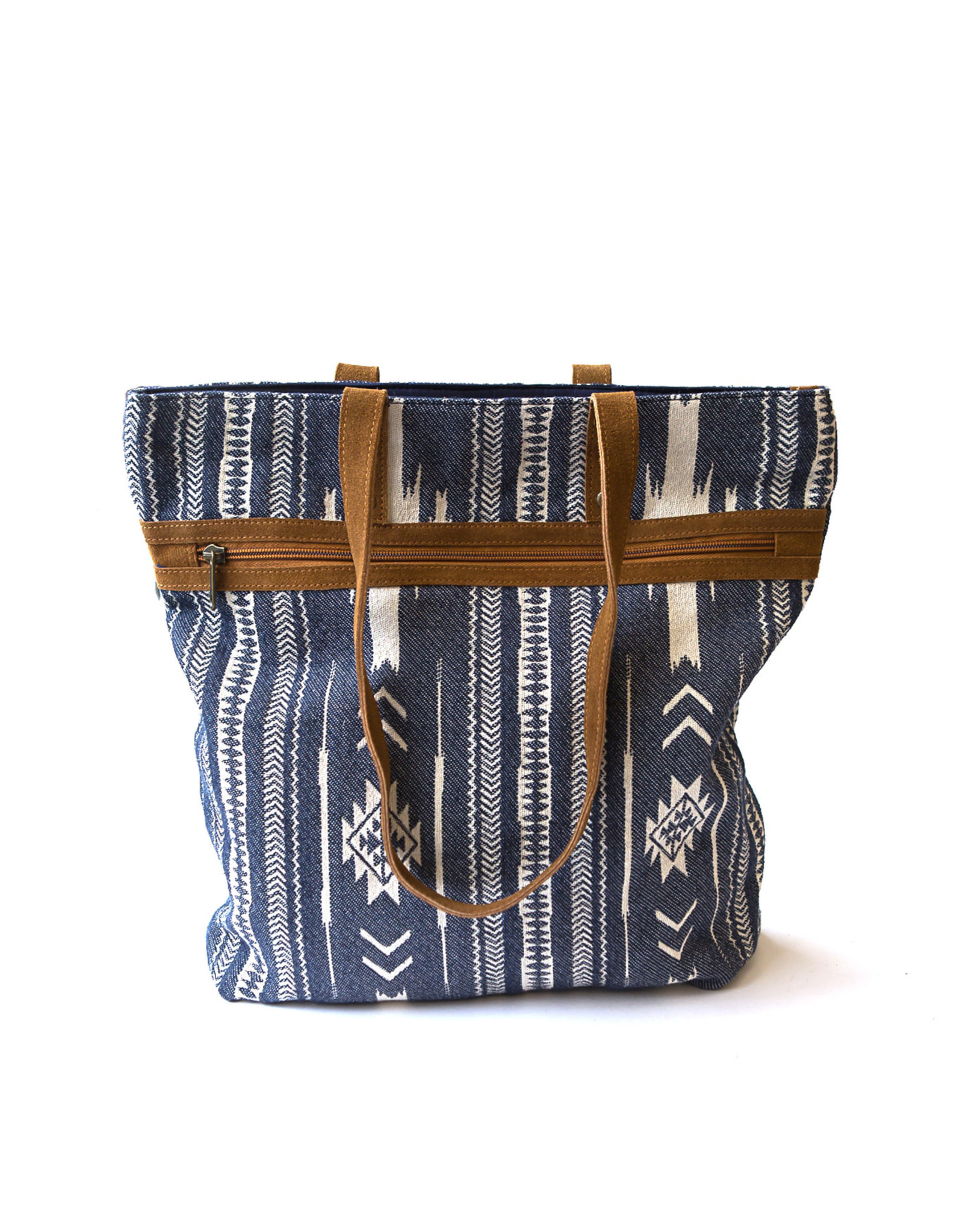 Rover Patterned Purse, Blue
