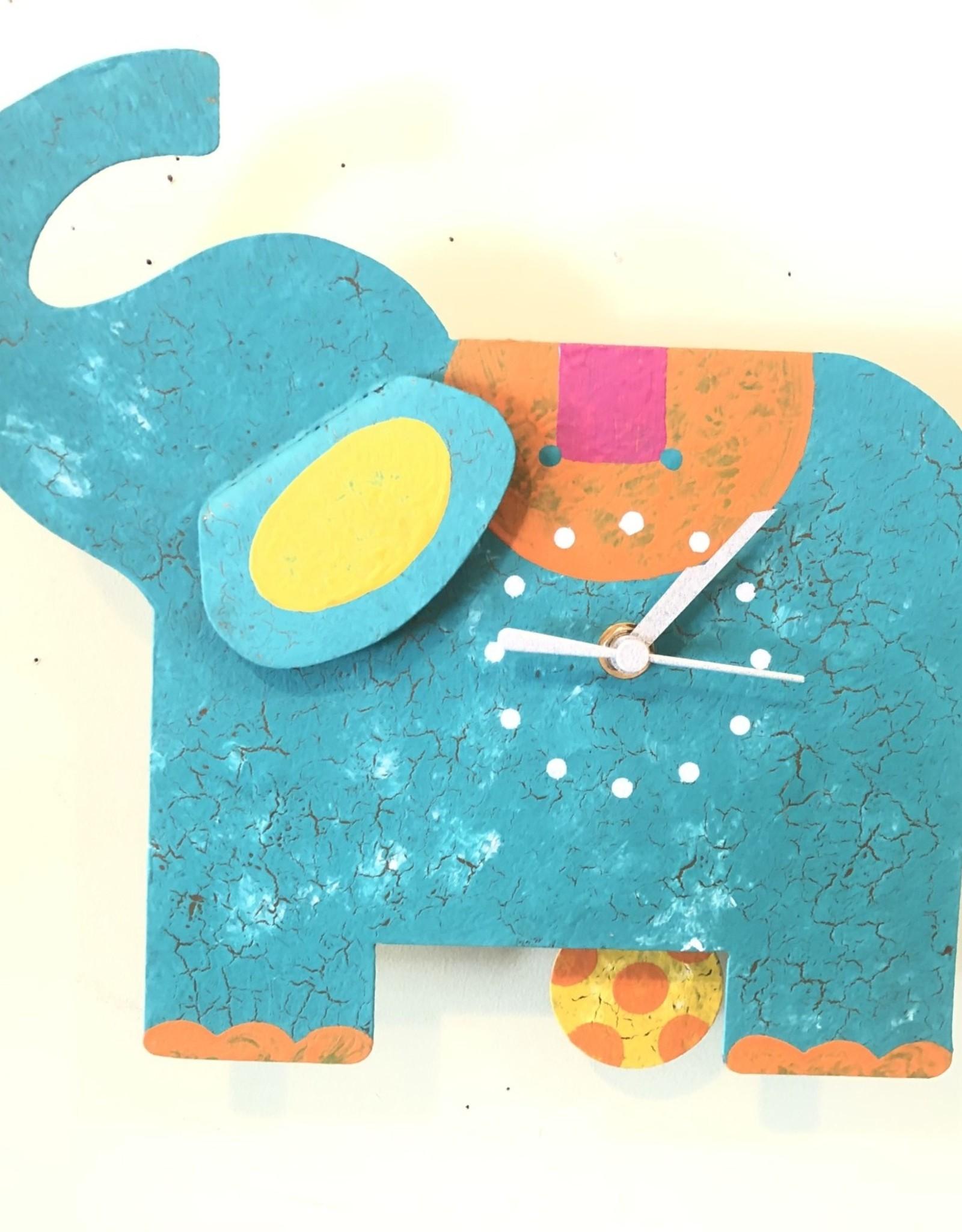 Silly Clocks Blue Elephant, Colombia