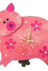 Colombia, Silly Clocks Pink Pig