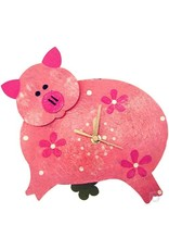 Silly Clocks Pig, Pink, Colombia