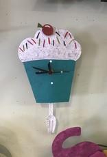 Silly Clocks Cupcake Wall
