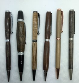 Maple and Paduk Pens